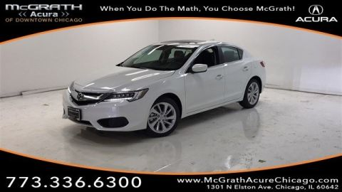 Certified Pre-Owned 2018 Acura ILX with Technology Plus Package