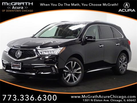 New 2019 Acura MDX 3.5L Advance Pkg w/Entertainment Pkg