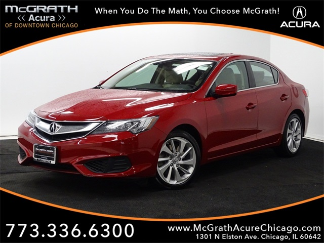 Certified Pre-Owned 2017 Acura ILX with AcuraWatch Plus