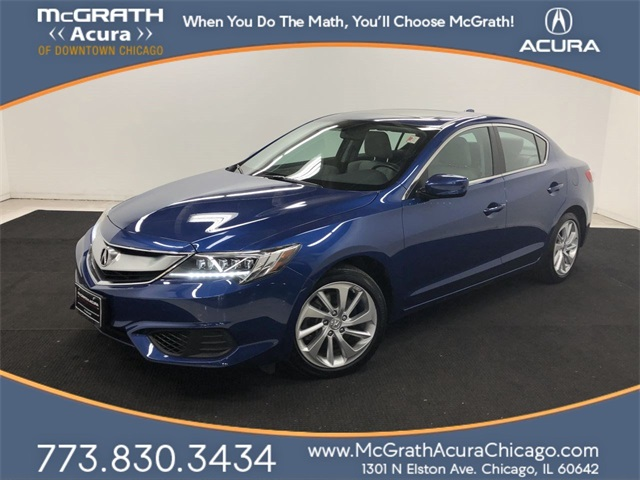 Acura Certified Pre-Owned >> Certified Pre Owned 2017 Acura Ilx Base 4d Sedan In Chicago Pt2873