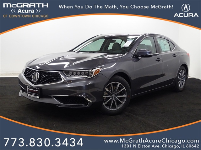 New 2020 Acura Tlx Base 4d Sedan In Chicago A07798 Mcgrath Acura