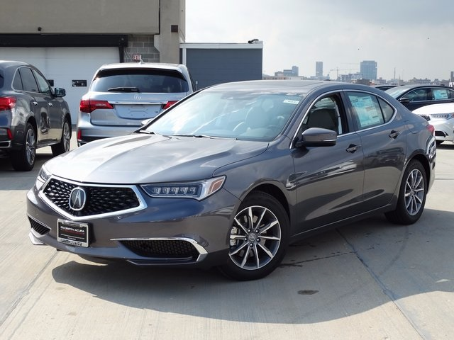 new 2018 acura tlx 2 4 8 dct p aws with technology package 4d sedan