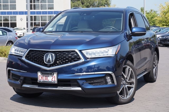 Pre Owned 2017 Acura Mdx Awd Advance 3 5l