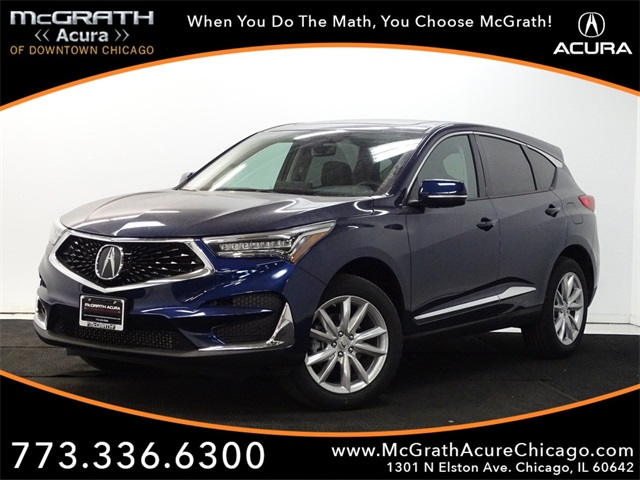 New 2019 Acura Rdx Base 4d Sport Utility In Chicago A97410