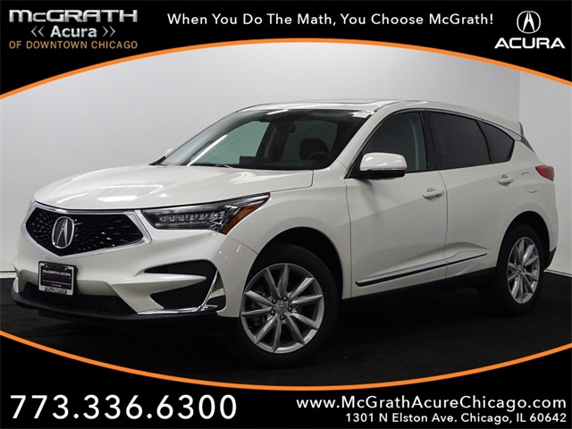New 2019 Acura Rdx Base 4d Sport Utility In Chicago A97413