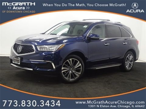 Certified Pre-Owned 2017 ACURA MDX Technology & Entertainment